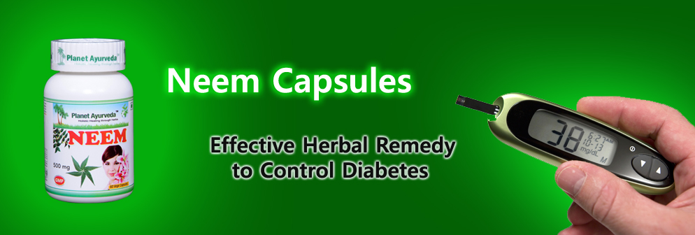 Neem Capsules - Effective Herbal Remedy to Control Diabetes